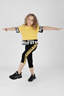 Ahenk Kids Kız Çocuk No Fılter Baskılı Taytlı Takım