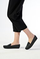 OCT Shoes Siyah Kadın  Babet TS1025