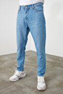 TRENDYOL MAN Mavi Erkek Relax Fit Jeans TMNSS20JE0519
