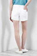 Colin's KADIN Orta Bel Kisa Slim Fit Beyaz Kadın Jean Şort CL1029916