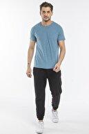 Slazenger Bıon Erkek T-shirt Petrol St11te111