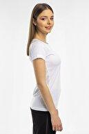 Slazenger Relax Kadın T-shirt Beyaz St11te050