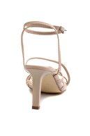 Bambi Nude Nubuk Kadın Klasik Topuklu Ayakkabı K05503530371