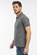 Slazenger Salvator Erkek T-shirt Antrasit St11te081