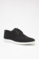 Hotiç Hakiki Deri Siyah Erkek Klasik Ayakkabı 02AYH297230A100