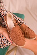 Soho Exclusive Taba Suet Kadın Casual Ayakkabı 14711