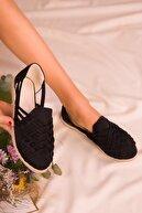 Soho Exclusive Siyah Suet Kadın Casual Ayakkabı 14711