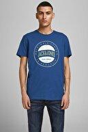Jack & Jones Erkek Lacivert T-shirt