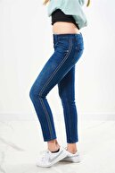 FINGER PRINT Kadın Mavi Pantolon