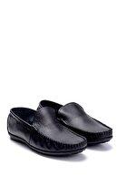Derimod Erkek Siyah Deri Loafer Ayakkabı
