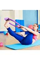 5DM Profesyonel Pilates Çemberi Dairesi Spor Yoga Egzersiz Çemberi Fitness Esneme Germe Aleti