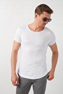 Buratti % 100 Pamuklu Bisiklet Yaka Basic T Shirt Erkek T SHİRT 5412056