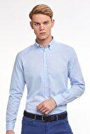 Hemington Açık Mavi Yazlık Oxford Gömlek