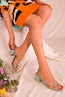 Soho Exclusive Yeşil Kadın Klasik Topuklu Ayakkabı 15939