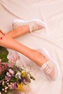Soho Exclusive Bej Kadın Sneaker 15774