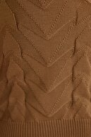 TRENDYOLMİLLA Vizon Crop Yazlık Triko Bluz TCLSS19GO0002