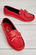 Bambi Kırmızı Kadın Loafer K01542005009
