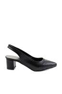 Bambi Siyah Kadın Klasik Topuklu Ayakkabı K01503721009