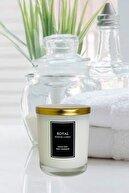 Royal Mum Beyaz Sabun Kokulu - 180 gr - Metal Kapaklı - Beyaz Bardak Mum