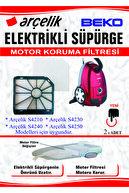 Arçelik S 4210 4230 4240 4250 Süpürge Motor Koruma Filtresi 2'li