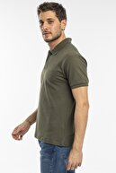 Slazenger Salvator Erkek T-shirt Haki St11te081
