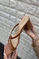 İnan Ayakkabı KADIN TABA TOPUKLU AYAKKABI 21İ111MHM