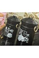 Yıldıray Metal Çay Ve Şeker Saklama Kapları