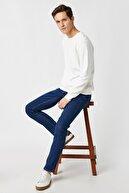 Koton Erkek Koyu İndigo Jeans 1KAM43043MD