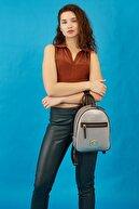 US Polo Assn Kadın Açık Kurşun Sırt Çantası Us8709