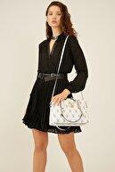 US Polo Assn Kadın Beyaz  Omuz Çantası Us8701