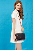 US Polo Assn Kadın Lacivert Çapraz Çanta