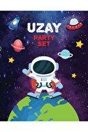 Big Party Uzay Temalı Parti Banner 3 Metre