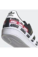 adidas Erkek Siyah Süperstar Günlük Spor Ayakkabı