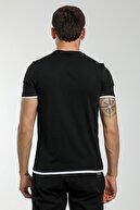 Slazenger Massıve Erkek T-shirt Siyah St11te154