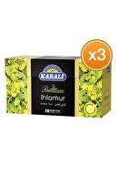 Karali Çay Karali Bardak Poşet Bitki Çayı Ihlamur 20'li X 3 Adet