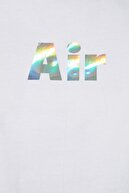 TRENDYOLMİLLA Beyaz Hologram Baskılı Crop Spor T-Shirt TWOSS20TS0613