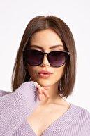 LadyColor Kadın Siyah Deluxe Kemik Güneş Gözlüğü
