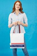US Polo Assn Beyaz Kadın Omuz Çantası Us8232