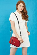 US Polo Assn Kadın Kırmızı Çapraz Çanta