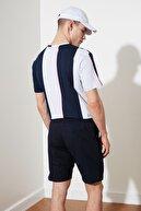 TRENDYOL MAN Lacivert Erkek Regular Fit  Şort & Bermuda TMNSS20SR0070