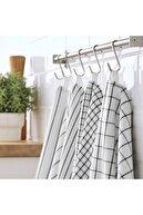 IKEA Kurulama Bezi Meridyendukkan Beyaz-gri Pamuk 45x60 Cm 4adet