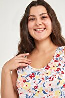 Penti Bold Flowers Atlet Şort Pijama Takımı
