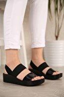 Ccway Kadın Lastikli Sandalet
