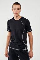 HUMMEL HMLSAMUEL Siyah Erkek T-Shirt 101085861