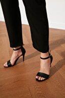 Trendyol Shoes Siyah Tek Bantlı Kadın Klasik Topuklu Ayakkabı TAKSS21TO0029
