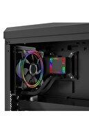 GAMETECH Hydra Rainbow Pro 120mm Intel Amd Uyumlu Işlemci Fanı Sıvı Soğutma Sistemi