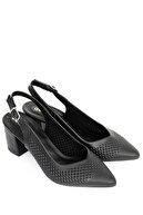 GÖNDERİ(R) Siyah Kadın Klasik Topuklu Ayakkabı 39120