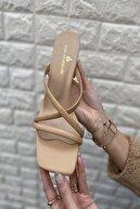 İnan Ayakkabı KADIN BEJ TOPUKLU AYAKKABI 21İ111MHM