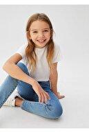 Mango Kız Çocuk Mavi Süper Skinny Jean 67044380