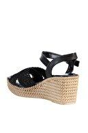Soho Exclusive Siyah Kadın Dolgu Topuklu Ayakkabı 15850